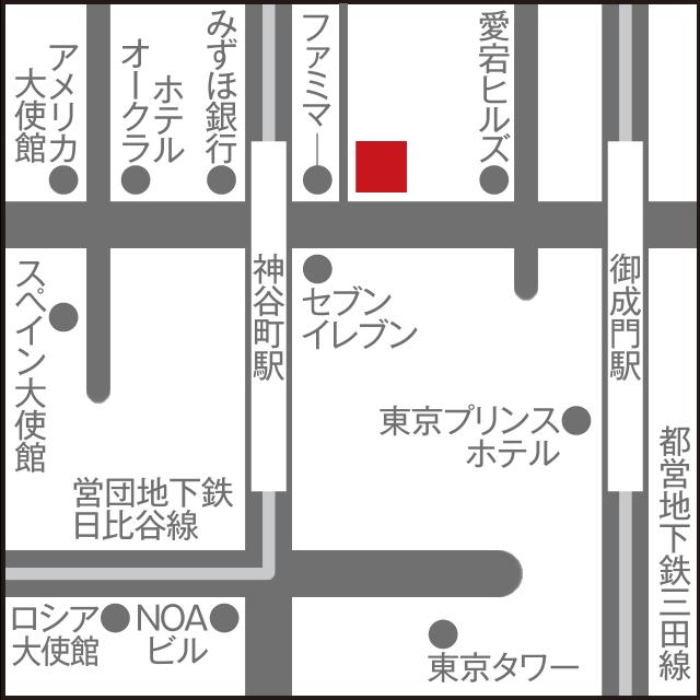 ルート66英会話教室 アクセスマップ